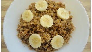 Aval Nanachathu (Sweetened Rice Flakes) Grandma