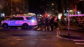 WARNING: graphic images - 'Everybody was disoriented, running around': NYC bomb witness