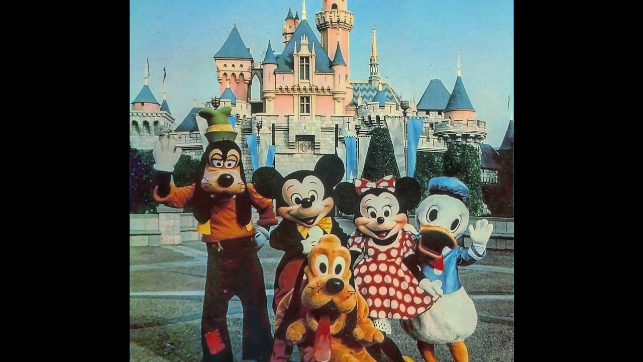 Disney S Sing Along Songs Disneyland Fun 1990 Full In Hd Youtube