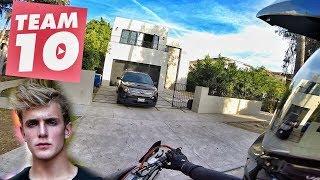 VISITING JAKE PAULS OLD HOUSE!!