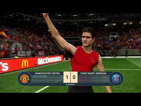 PES 2019 Realistic | Manchester United vs PSG - Champions League