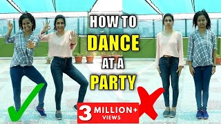 Basic Dance Moves for Beginners | How To Learn Dance (in Hindi)