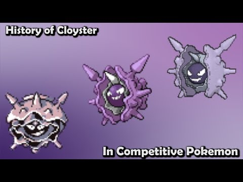 How GOOD was Cloyster ACTUALLY? - History of Cloyster in Competitive Pokemon (Gens 1-6)