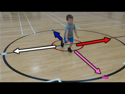 FUN KIDS SPEED, AGILITY AND QUICKNESS CONE DRILL
