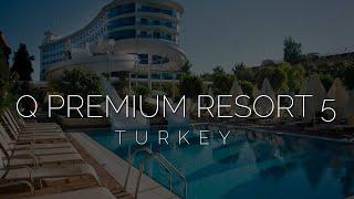 Турция за 300 5 звёзд ультра все включено Обзор отеля Q premium resort hotel 5 Алания