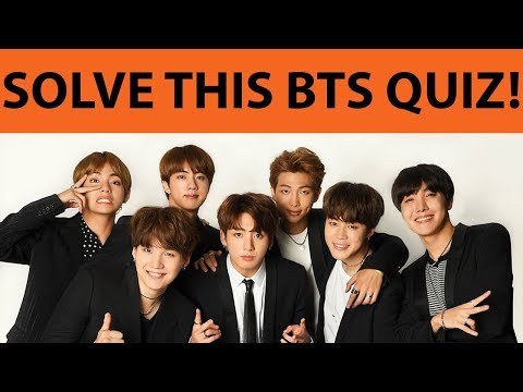 BTS QUIZ (HARD!!) ONLY TRUE FANS CAN ANSWER ALL