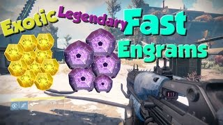 Destiny: FASTEST EXOTIC AND LEGENDARY FARM!!!
