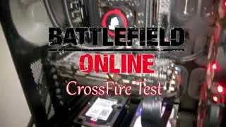 BattleField 4 and Hardline Online CrossFire Test (290x+290)