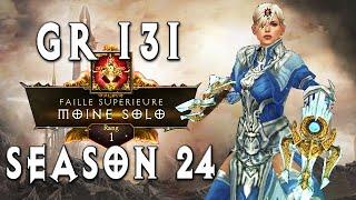 Rank 1 GR131 Monk   Diablo 3 [Season 24]
