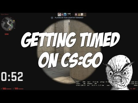 When you get timed on CS