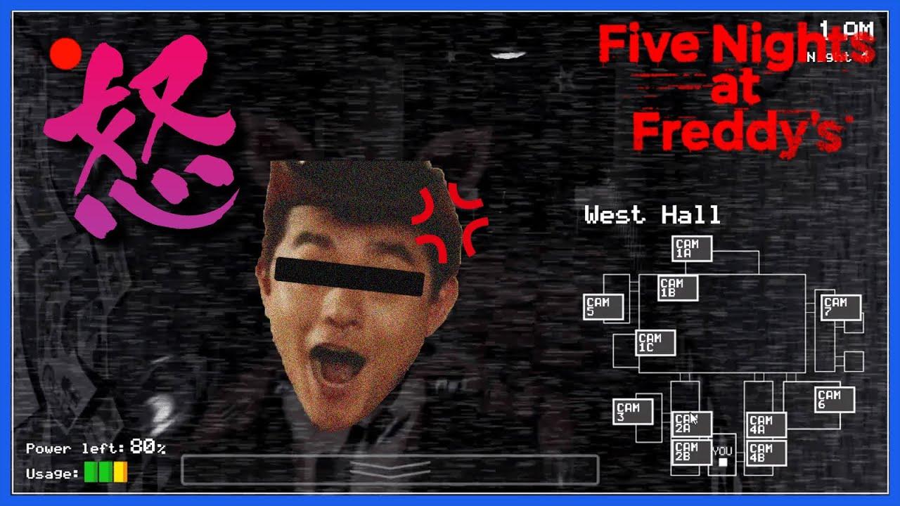 【とても音量注意】くまさんにガチギレするらっだぁさん #3【Five Nights at Freddy's】