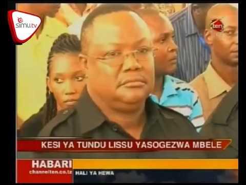 Download Kesi Ya Tundu Lisu Yasogezwa Mbele