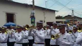Banda Instituto Nacional Thomas Jefferson Sonsonate 2013 La Pantera Mambo