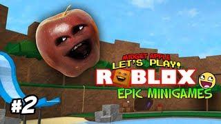 Roblox: EPIC BUTT KICKING!!! (Midget Apple Plays Epic MiniGames #2)