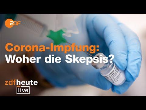 Corona-Impfung: Wer möchte, wer nicht? | ZDFheute live