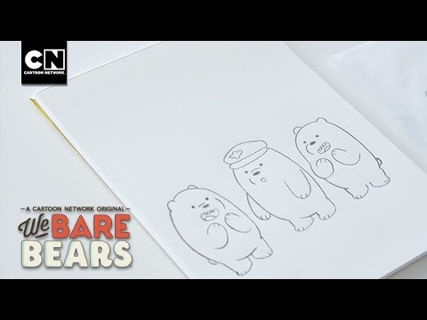 We Bare Bears | Sketch to Screen - The Animation Process | Cartoon Network