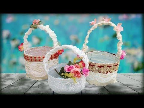 44d7d527094 how to make flower basket for wedding