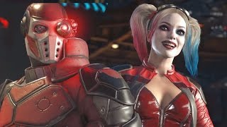 Харли Квинн и Дэдшот в Injustice 2! (HD) Gamescom 2016