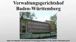 Verwaltungsgerichtshof Baden-Württemberg