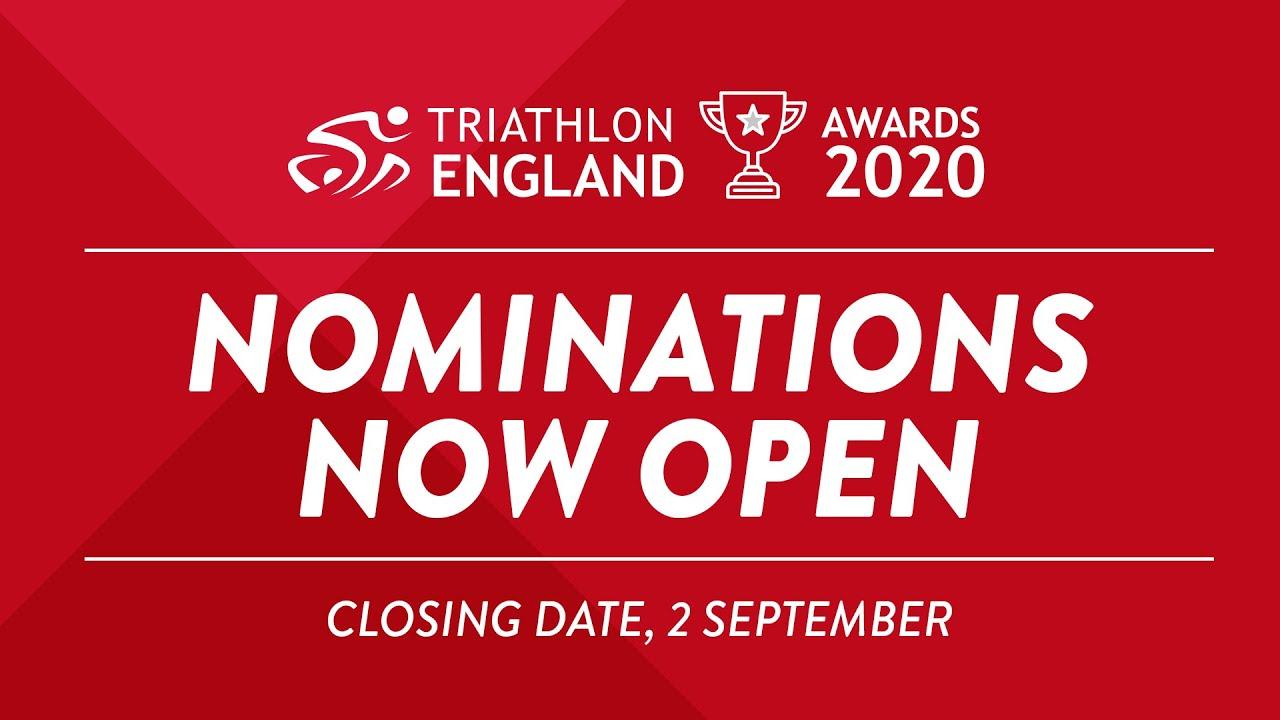 Triathlon England Awards 2020 - Nominations Now Open