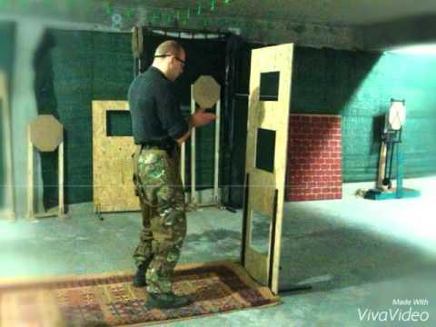 Соревнование по практической стрельбе из пневматического пистолета