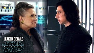 Star Wars Episode 9 Shocking Leia Scene! Leaked Details Revealed & Potential Spoilers