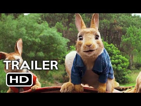 Peter Rabbit Official Full online #3 (2018) Margot Robbie, Daisy Ridley Animated Movie HD