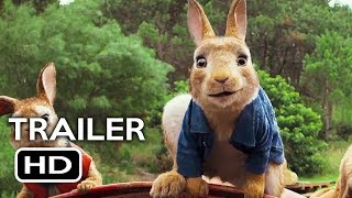 Peter Rabbit Official Trailer #3 (2018) Margot Robbie, Daisy Ridley Animated Movie HD