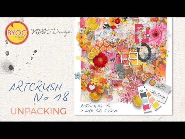 artCrush No18 - unpacking -by NBK-Design