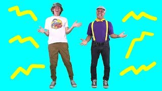 Shake it Out Body Parts Song with Matt | Featuring the Learning Station | Dance Action Song for Kids