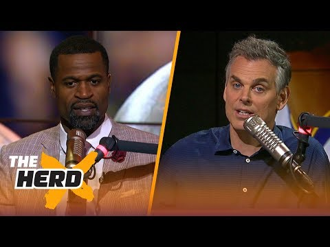 Colin Cowherd And Stephen Jackson On LeBron's Future And Durant's Game 3 | NBA | THE HERD