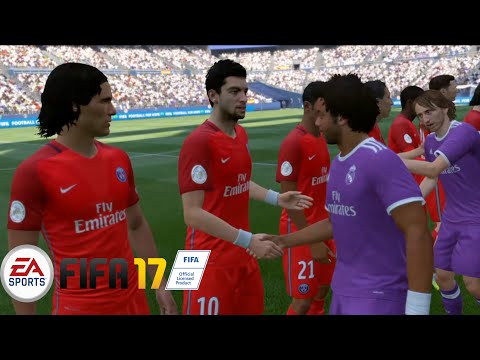 FIFA 17 Gameplay DEMO- Real Madrid C.F. vs Paris Saint-Germain F.C. (PS4)