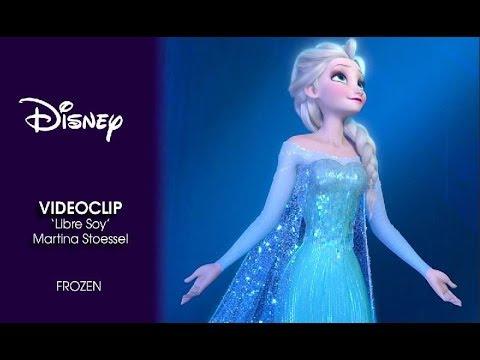 Frozen El Reino Del Hielo Videoclip Libre Soy Con Martina Stoessel Disney Oficial