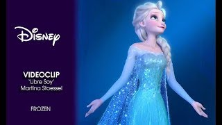 Frozen, el reino del hielo | Videoclip 'Libre soy' con Martina Stoessel | Disney Oficial