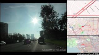 North la Peer Drive (California) to Wilshire Boulevard (Westwood)