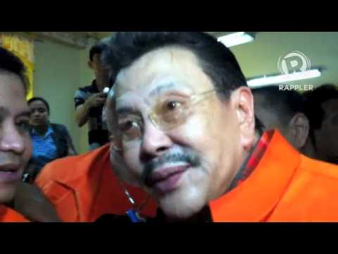 Erap on not being 'real Manilan': Baka si Lim pinanganak sa Beijing!