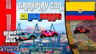 GTA V Online DLC Cunning Stunts | Partida Colombiana