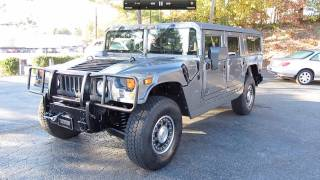 2006 Hummer H1 Alpha Passenger Wagon Start Up, Exhaust, and In Depth Tour
