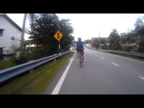 Cycling around Petaling Jaya