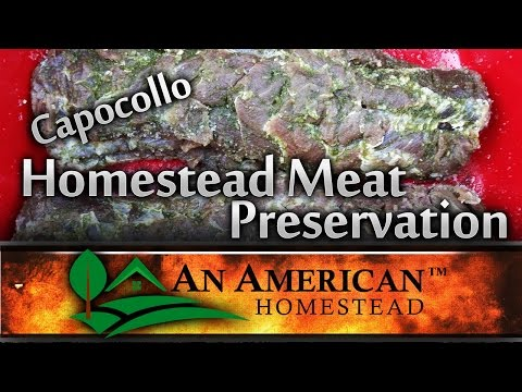 Meat Preservation on the Homestead