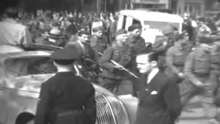 Captured Nazis In Paris, France, 03/03/1945 (full)