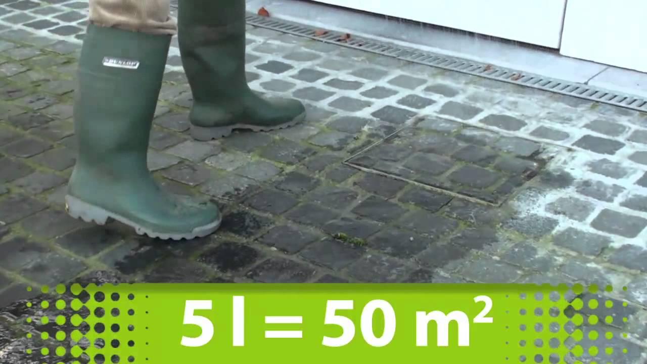 groene aanslag verwijderen schoonmaakazijn