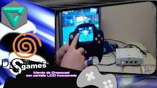 Mando de Dreamcast  con pantalla LCD incorporada