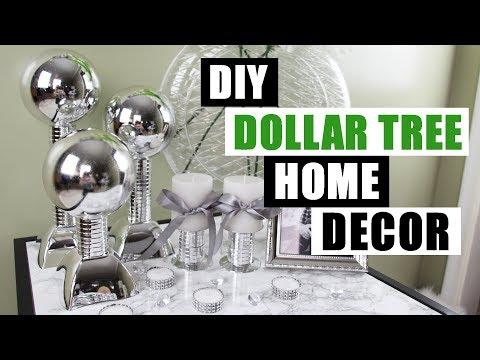 DIY DOLLAR TREE HOME DECOR DIY Faux Mirror Chrome Decor Pieces