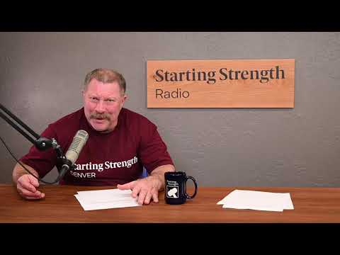 What Should I Substitute Bench With? - Starting Strength Radio Clips