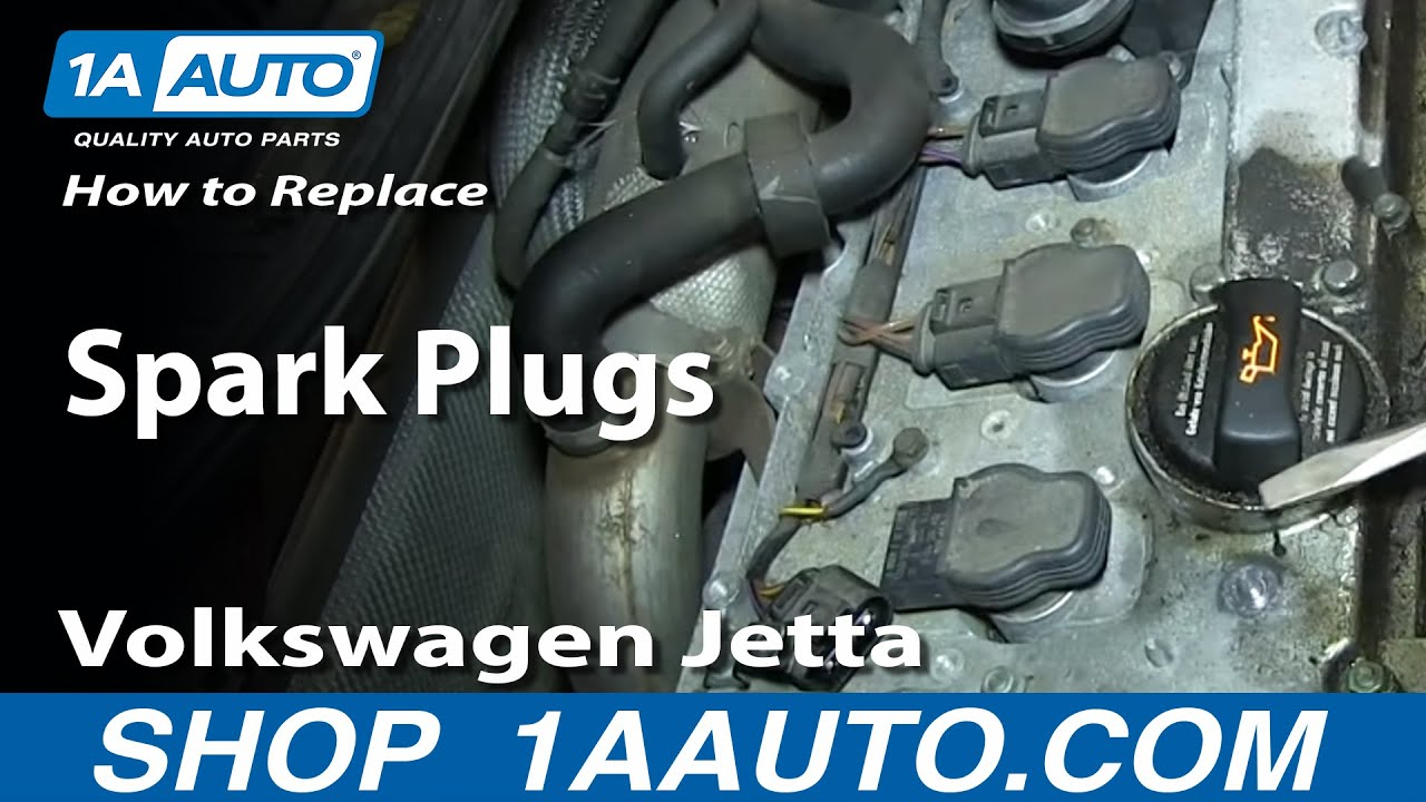 how to install replace change spark plugs vw volkswagen 1 8t turbo [ 1280 x 720 Pixel ]
