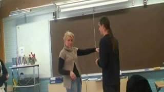 Hypnosis demo - Silent handshake