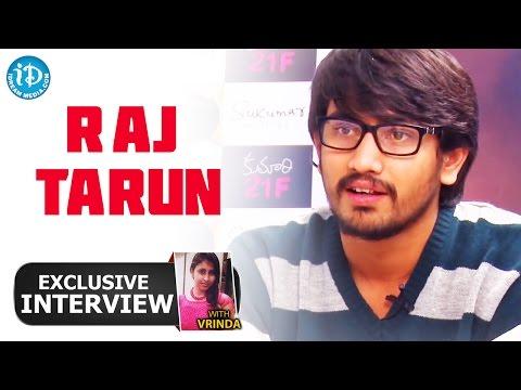 Hero Raj Tarun Exclusive Interview || Talking Movies with iDream # 39