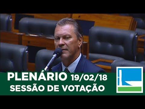 PLENÁRIO - Sessão Deliberativa - 19/02/2018 - 23:36