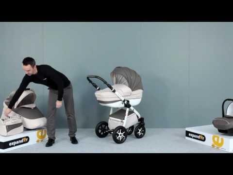 Детская модульная коляска Expander Mondo Ecco 3 в 1